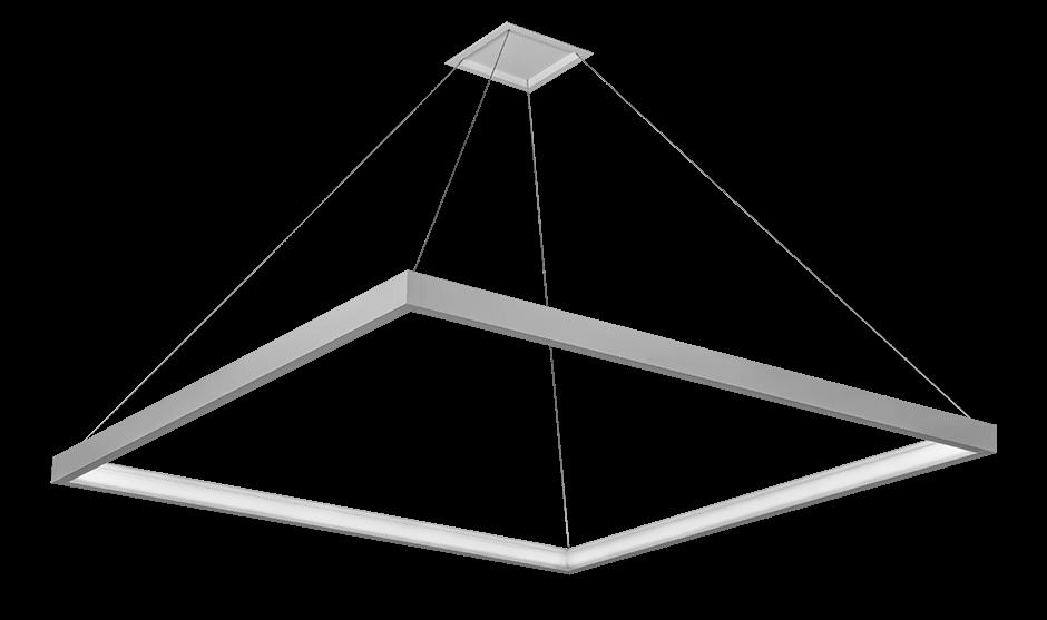 Nera Square Pendant
