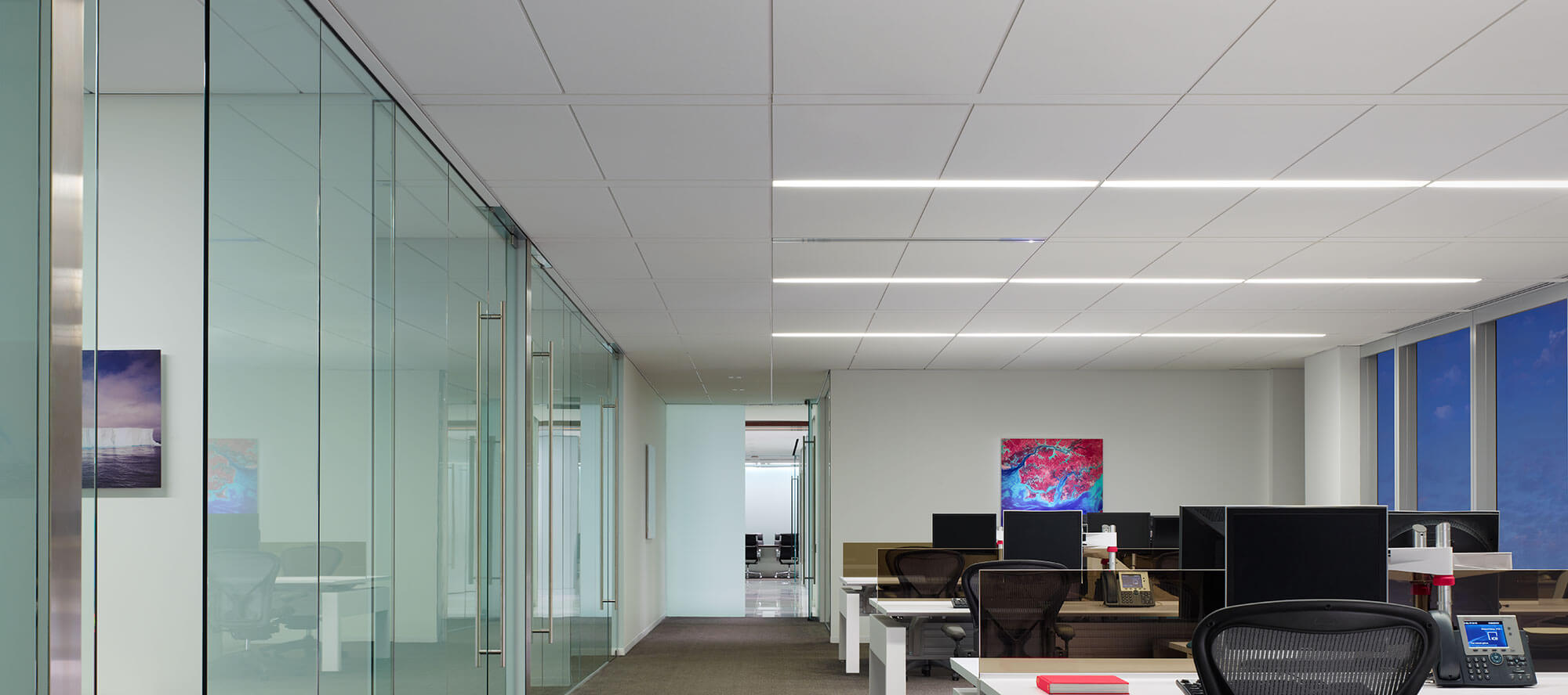 Techzone Ceiling System Focal Point Lights