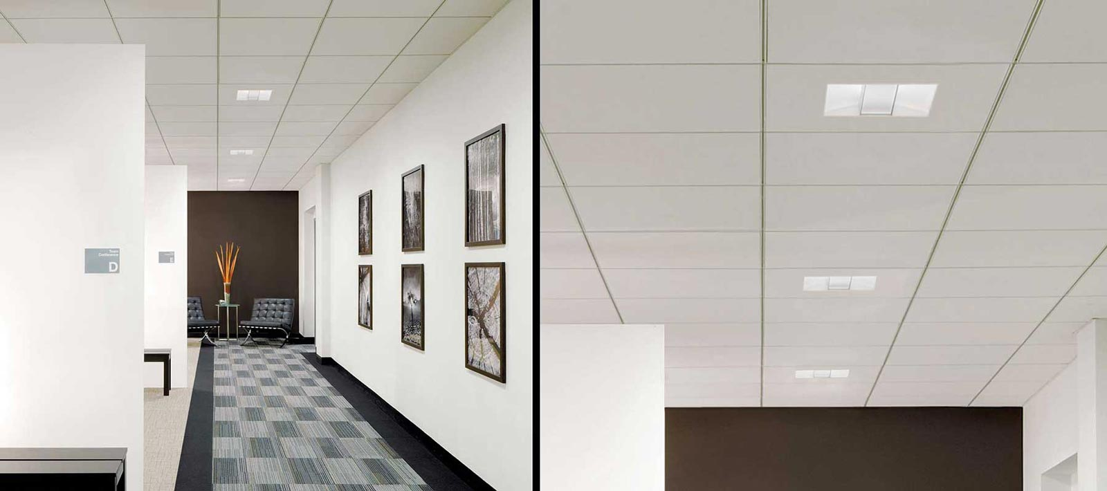 Corridor Focal Point Lights