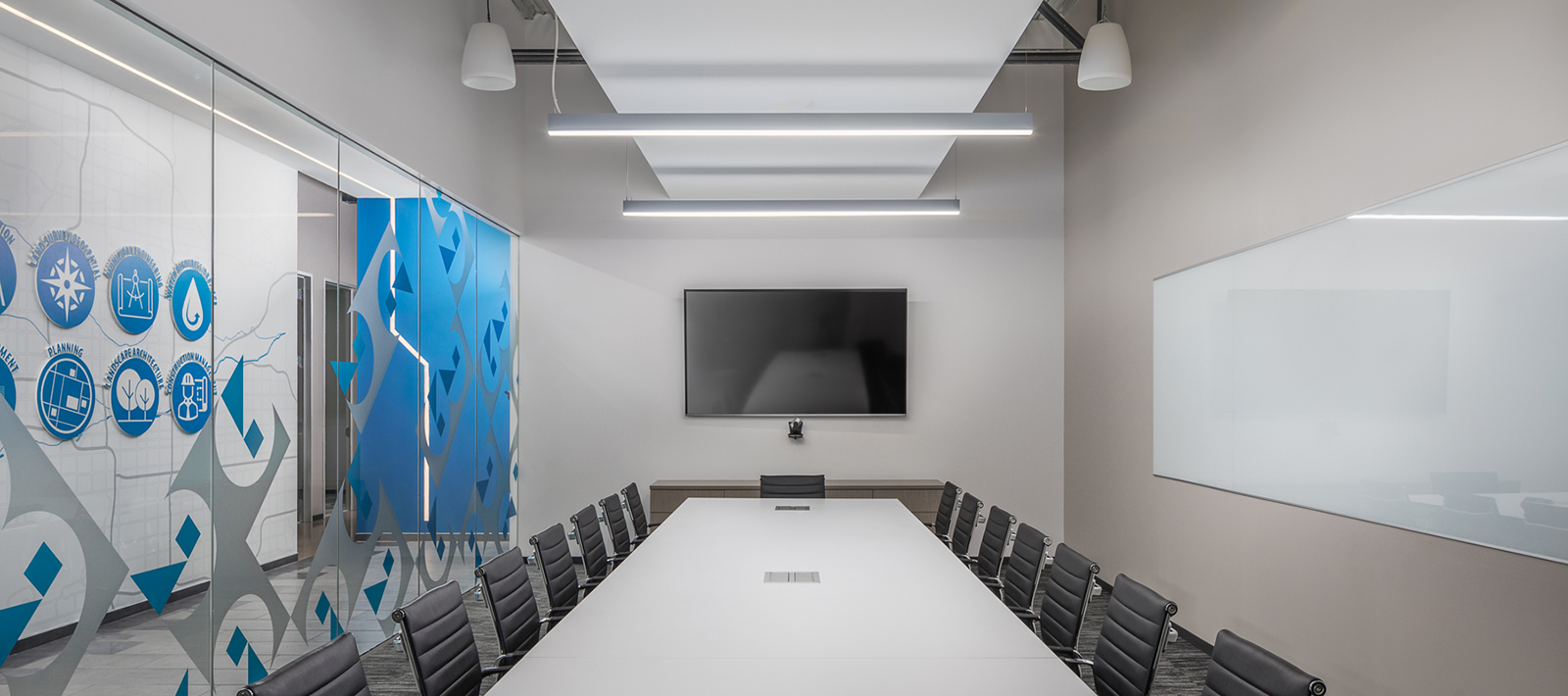 Conference Room Focal Point Lights